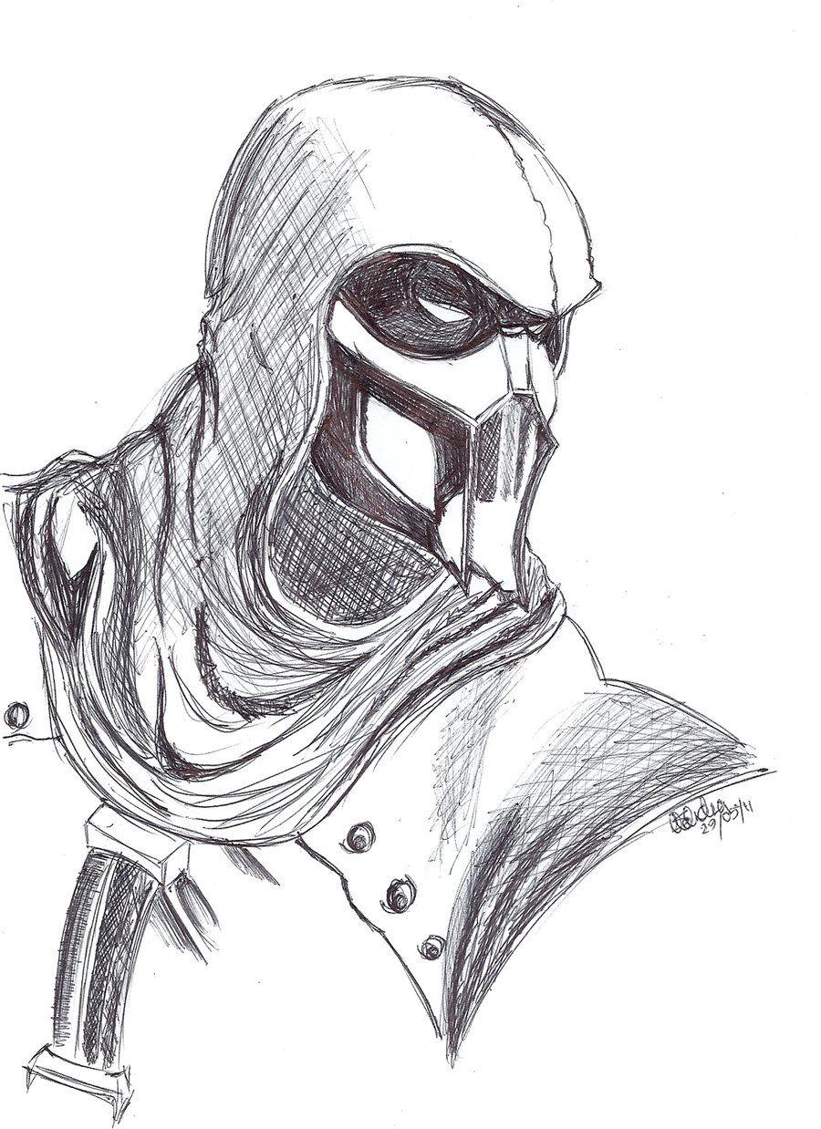 Mk Noob Saibot By Slotherius On Deviantart Mortal Kombat Art