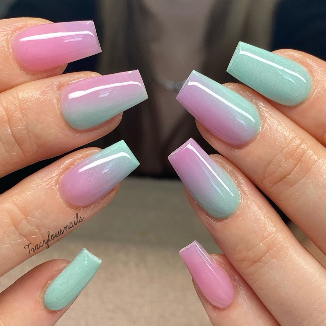 30 Amazing Medium Length Coffin Nails You Must Not Miss In 2020 Page 6 Of 7 Ibaz In 2020 Nails Coffin Nails Designs Nail Designs