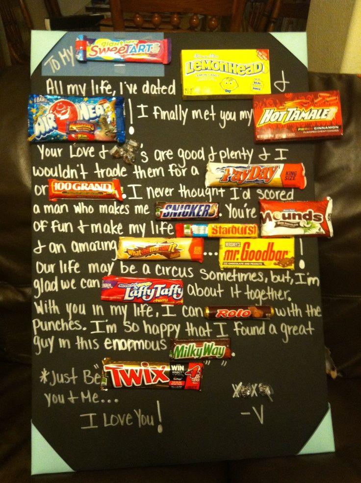 Birth Of A Candy Bar Joke Candy Bar Poem For Boyfriend