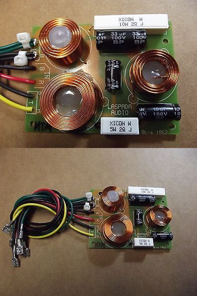 Speaker Parts and Components: Professional Mtm Crossovers, 10 Ohms