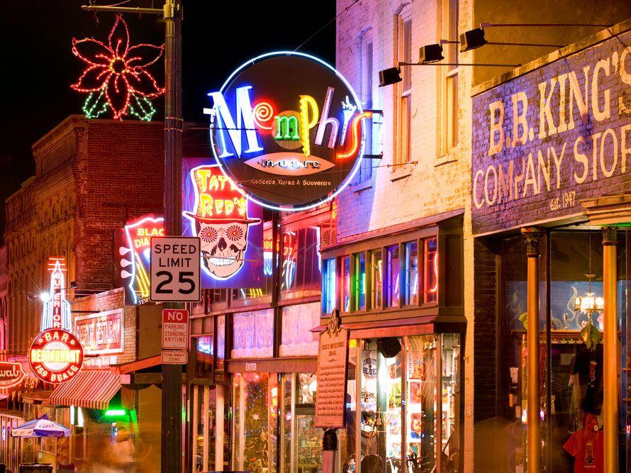Beale street memphis best cities win a trip