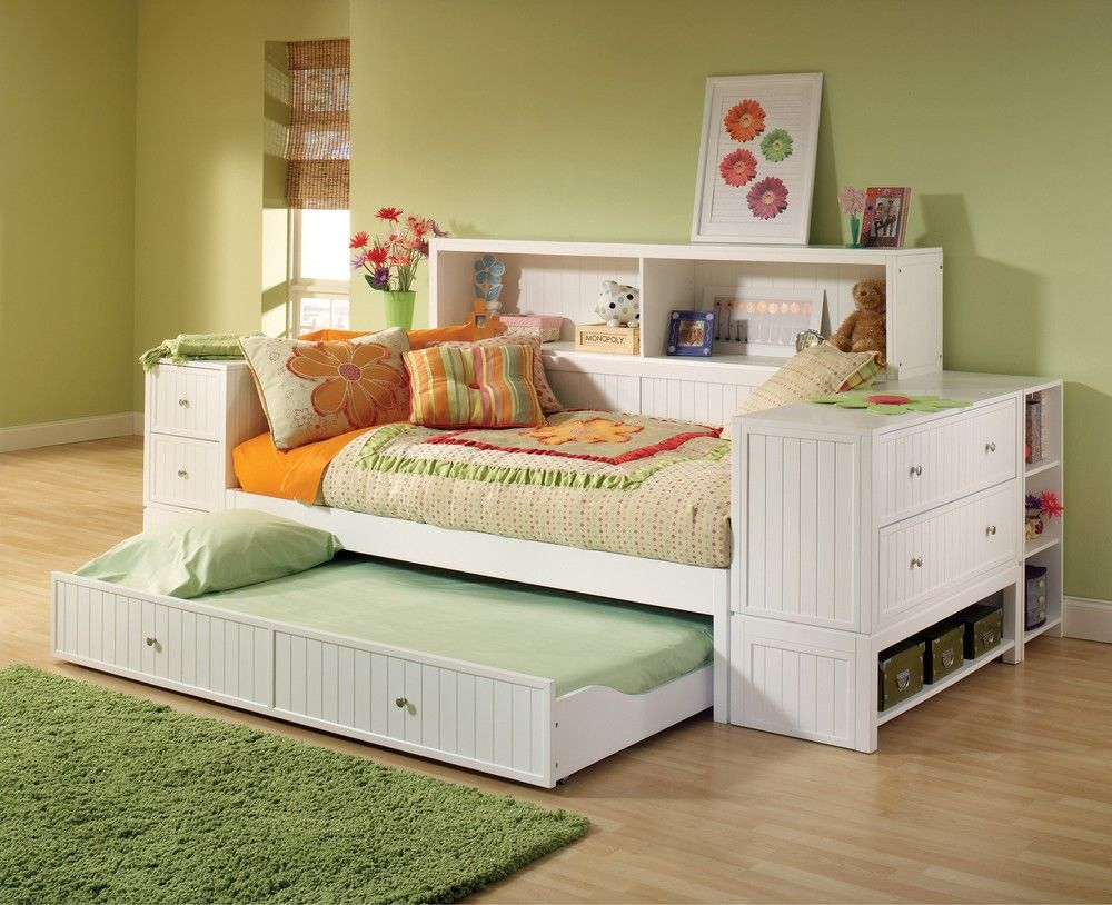 Cody Bookcase Daybed With Trundle Storage Drawer Hillsdale