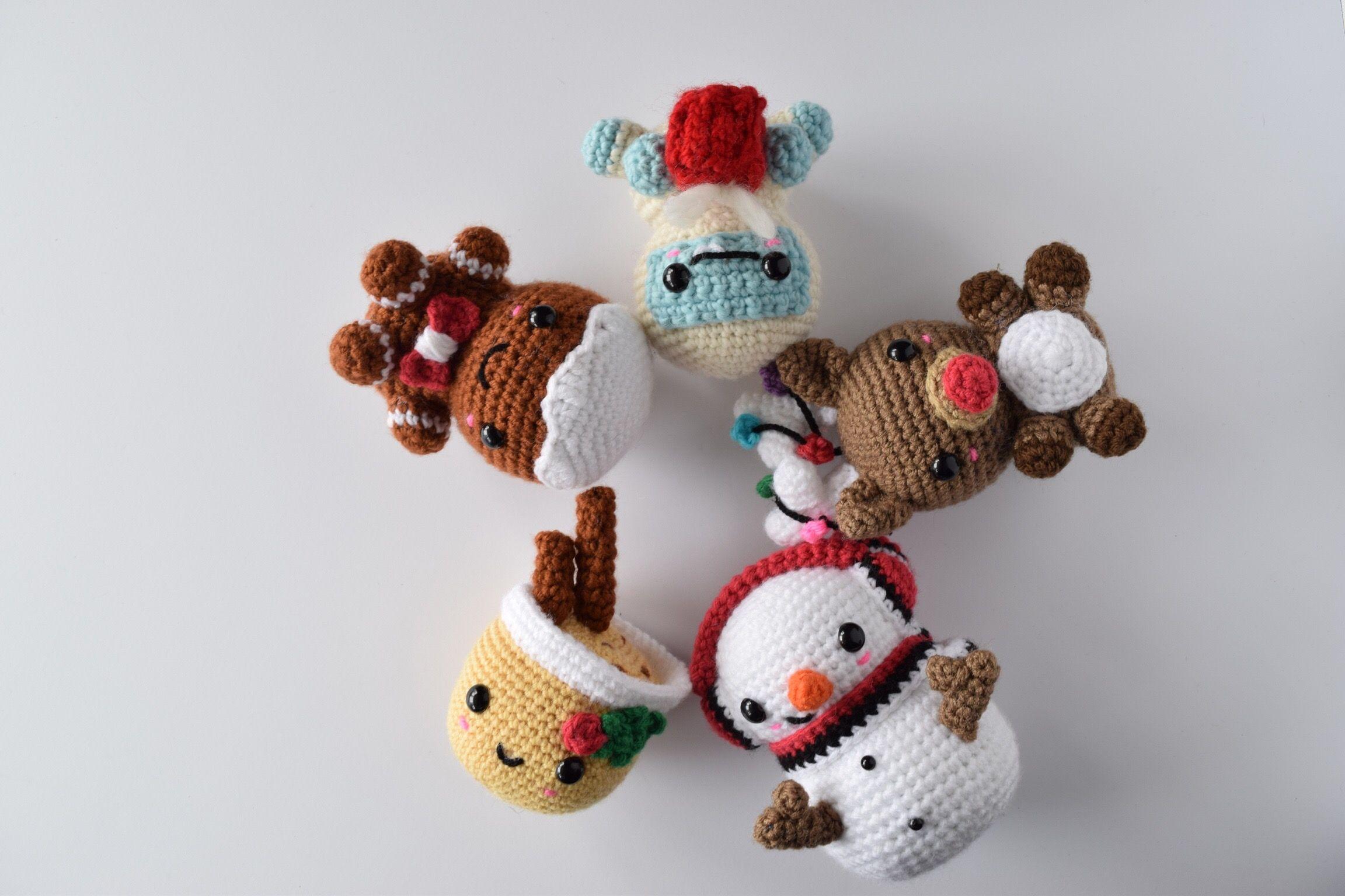 Patrones de Amigurumis para Navidad | Mini árbol de navidad ... | 1536x2304