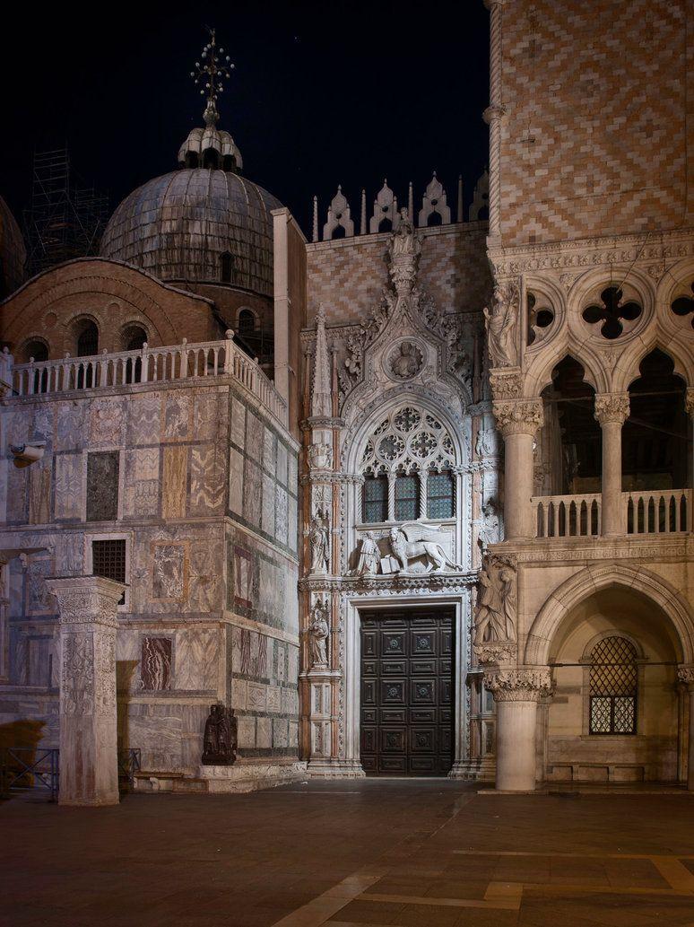 "eccellenze-italiane: "" St. Mark's Midnight by archipirata """