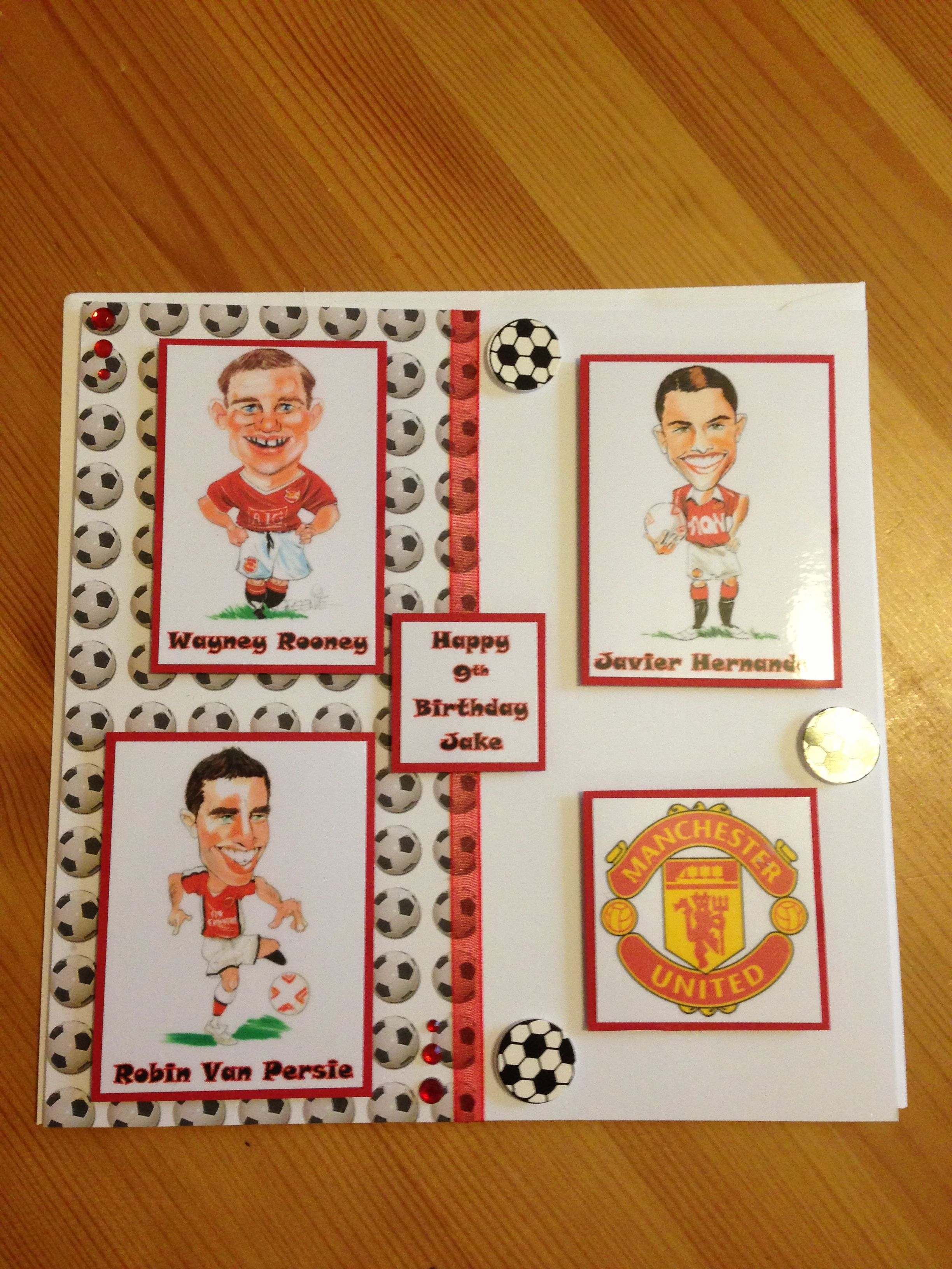 Manchester United fan card