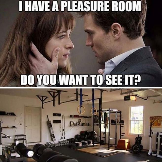 shades of grey crossfit meme Crossfit memes, Funny