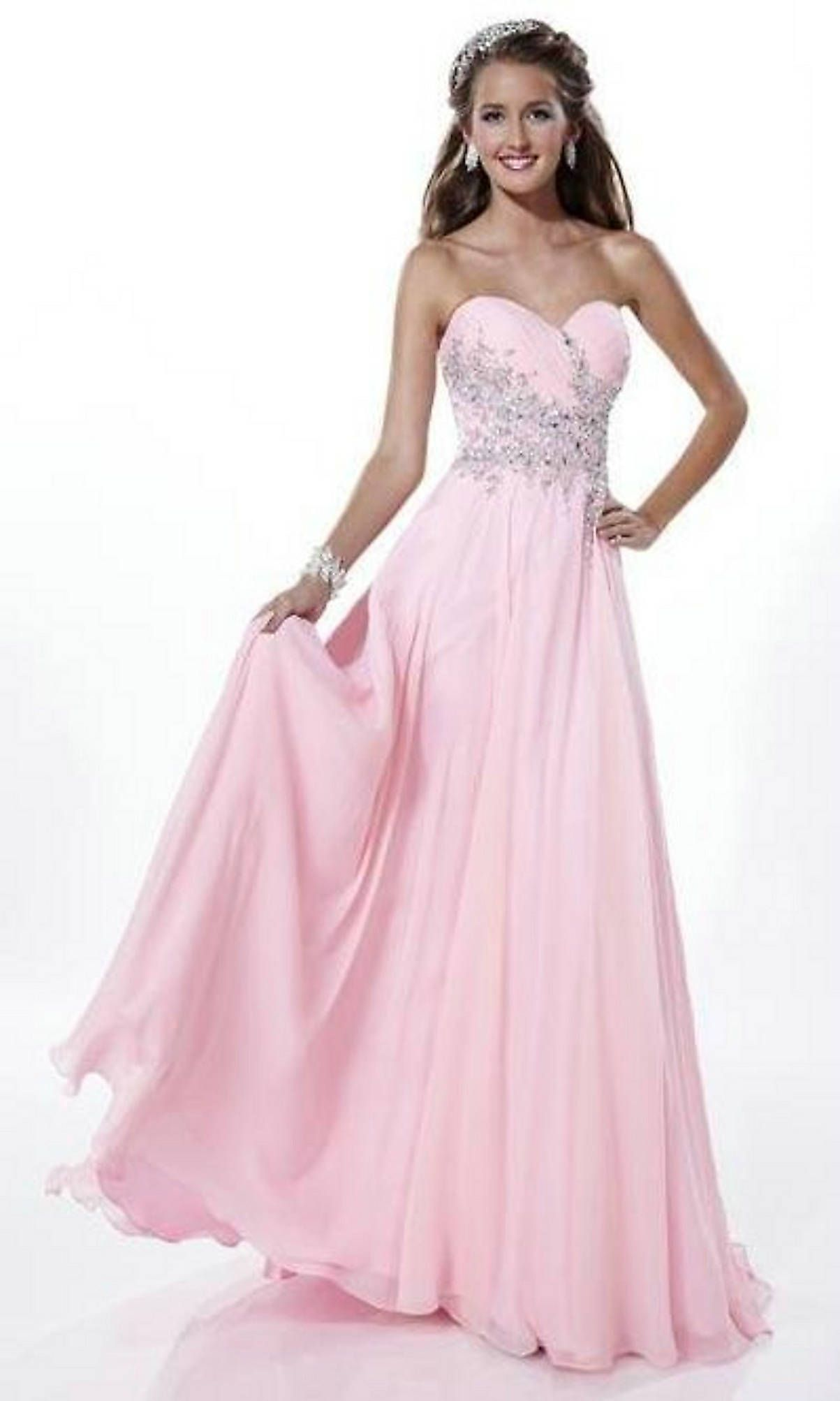 17 Best images about pink on Pinterest - Long prom dresses- Sherri ...
