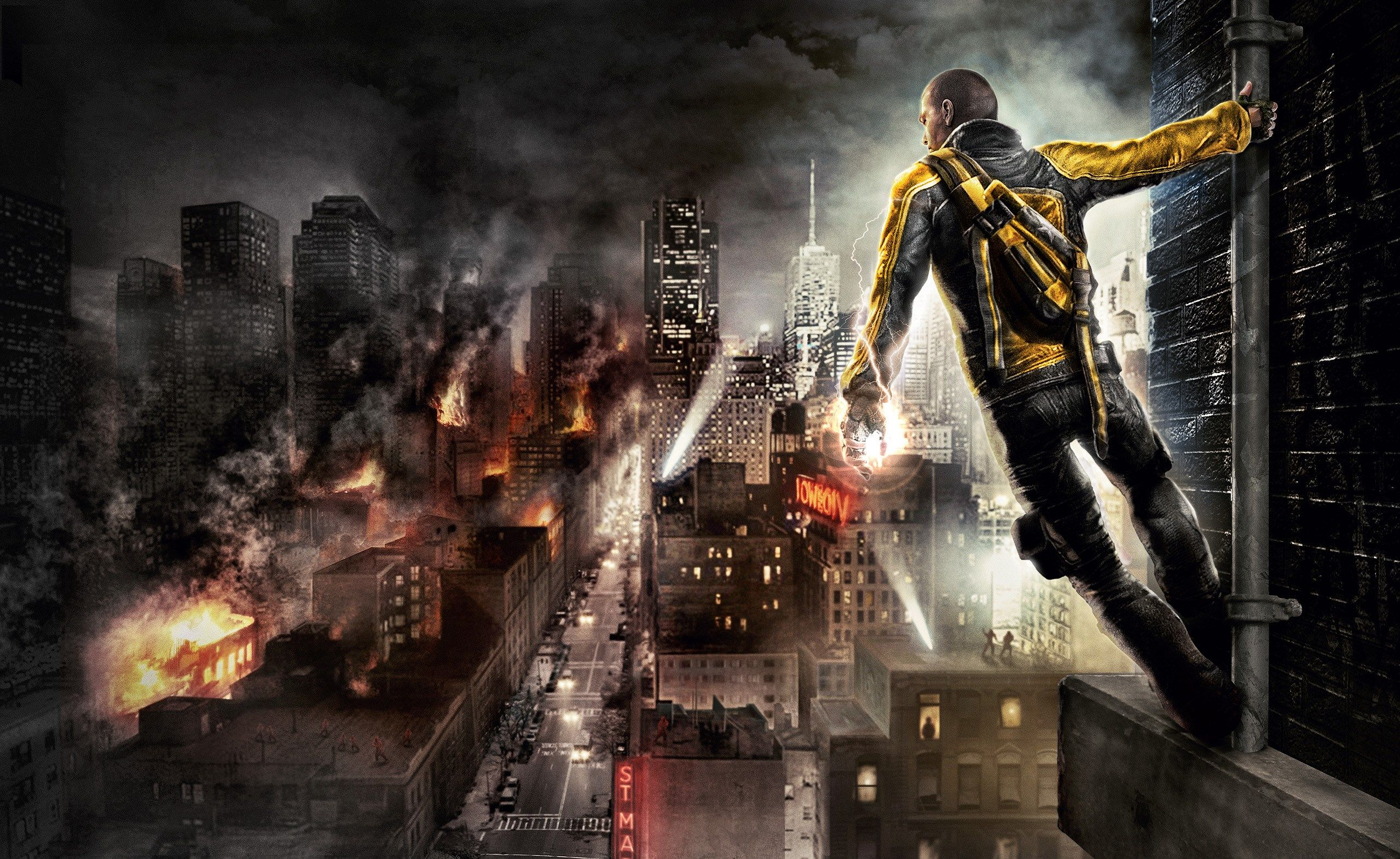 Eldred Mason Free Desktop Wallpaper Downloads Infamous 2558x1570 Px Gaming Wallpapers Hd Pc Games Wallpapers Gaming Wallpapers