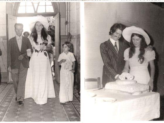vestido de noiva anos 70 - Pesquisa Google