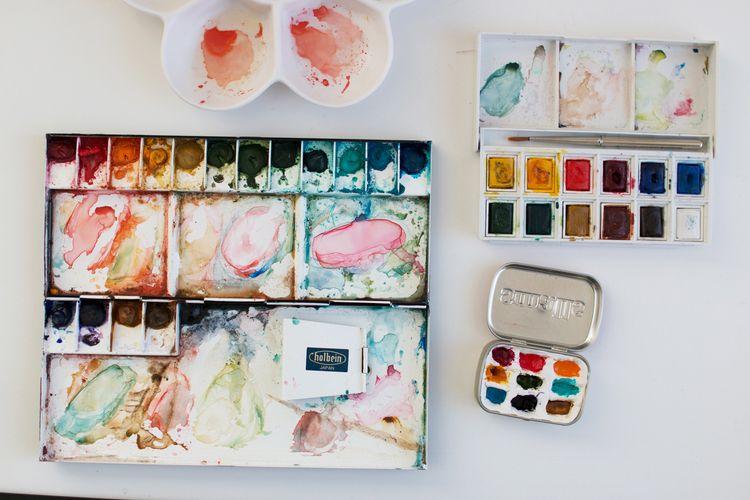 Diy Watercolor Palettes Watercolor Palette Diy