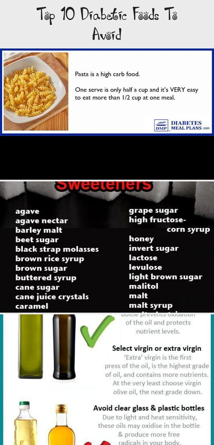 Top 10 Diabetic Foods To Avoid in 2020 Diabetic recipes