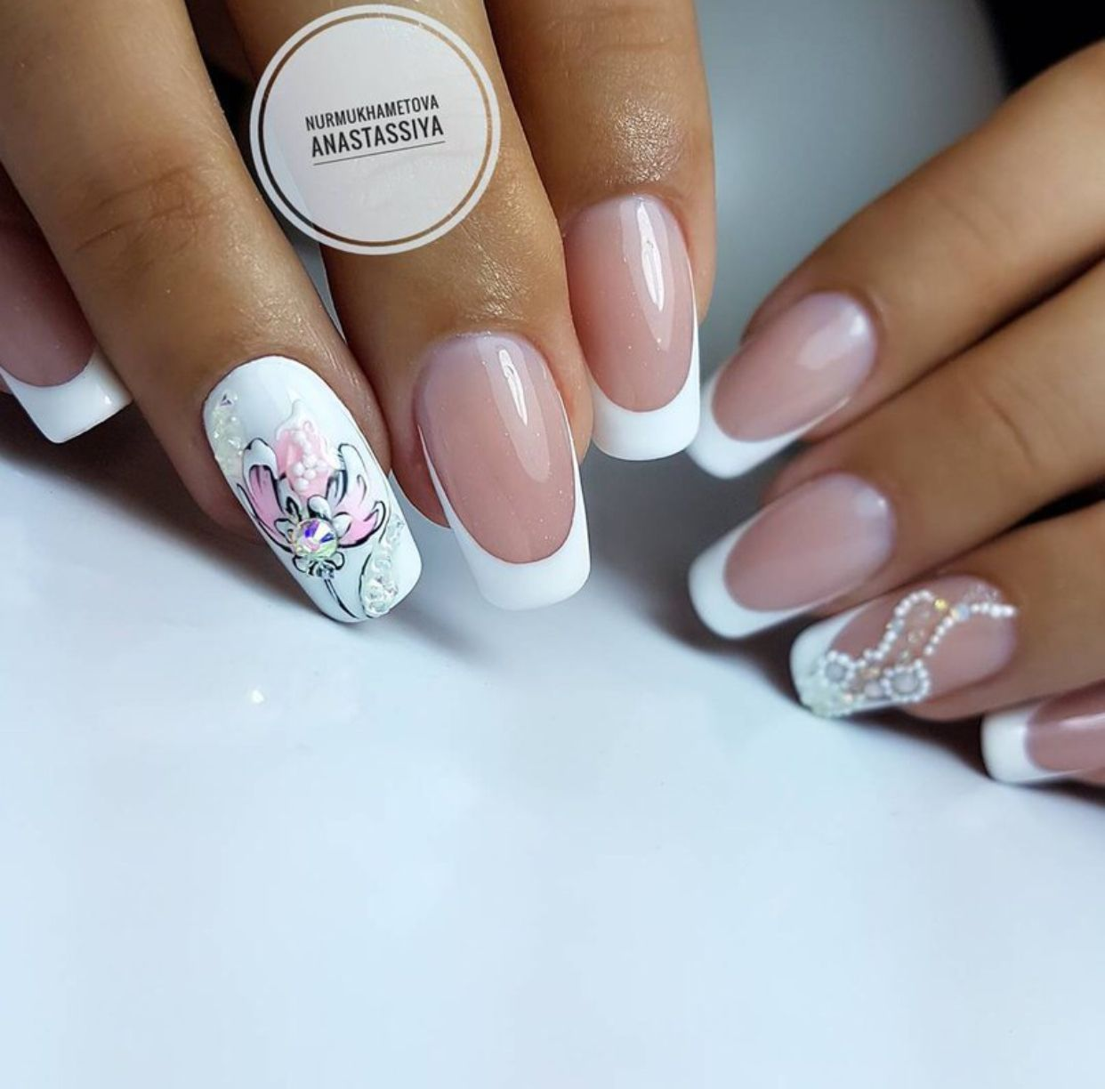 Pin by Оксана Гринева on ногти | Pinterest | Short nails art, Square ...