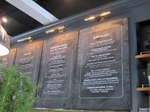 Grace Kitchen Open In U Village Meat Restaurant Menu Board