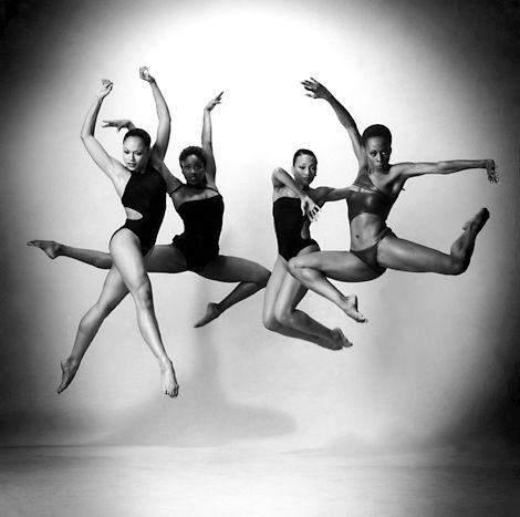 Alvin Ailey Dance Theater © Andrew Eccles. Jump. Freeze frame ...
