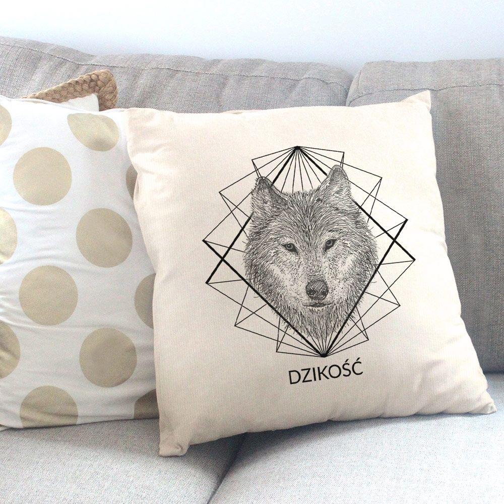 Poduszka Personalizowana Z Nadrukiem Wilk Prezenty Produkty I Wolf