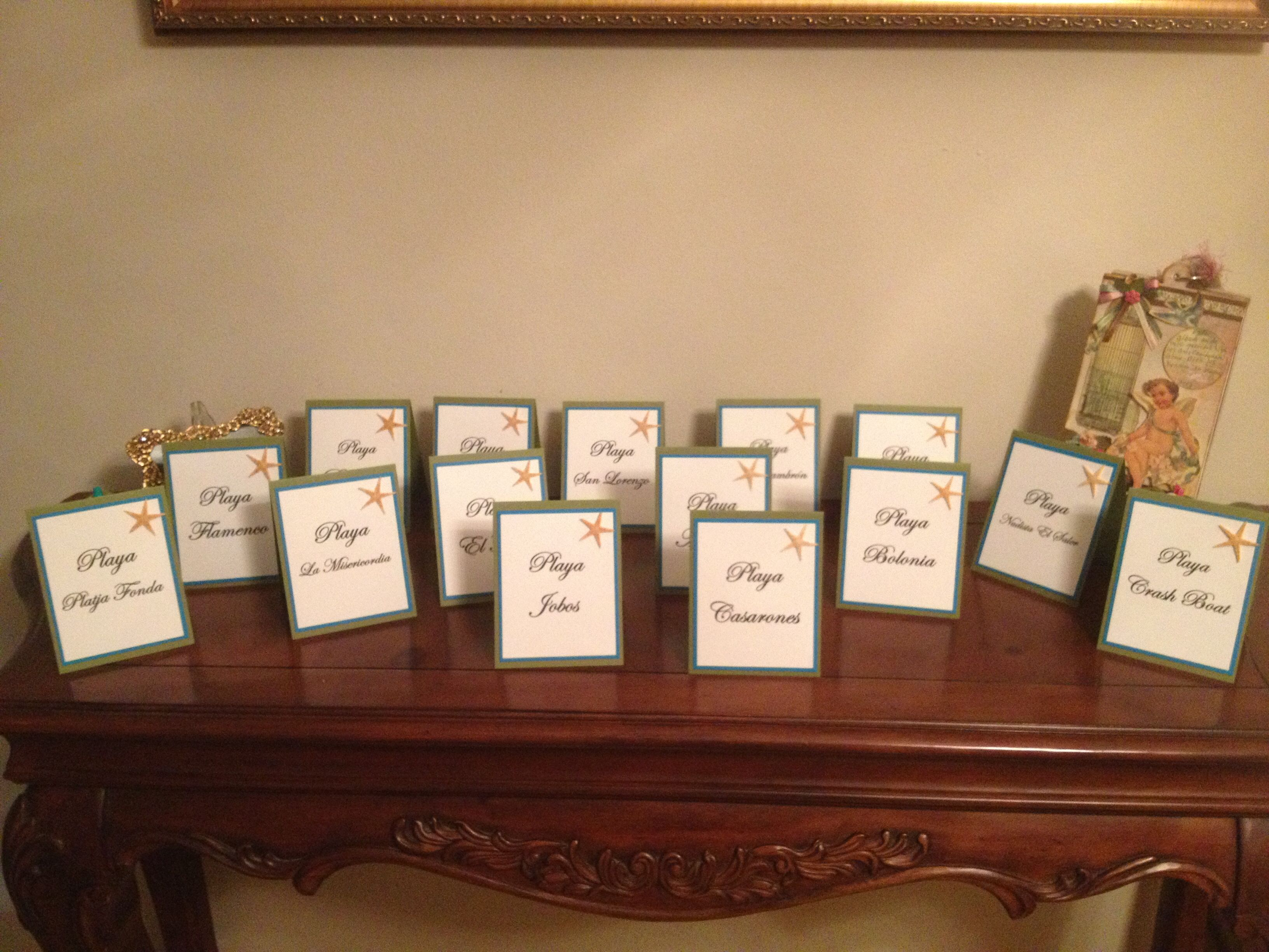 Gmail beach theme pictures - Beach Theme Table Numbers Beach Table Numbers Turquoise And Olive Table Numbers For