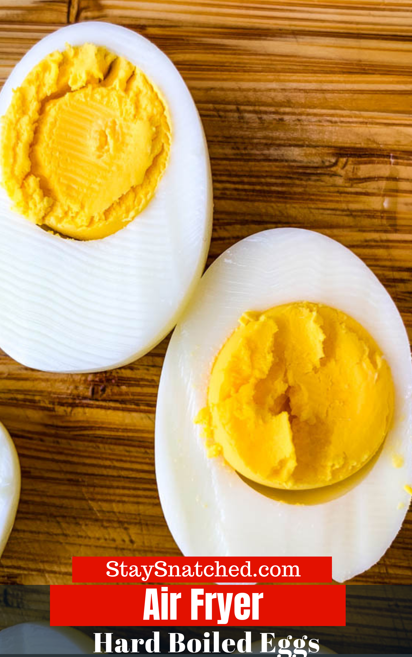 Easy Air Fryer Hard Boiled Eggs is a quick and easy to