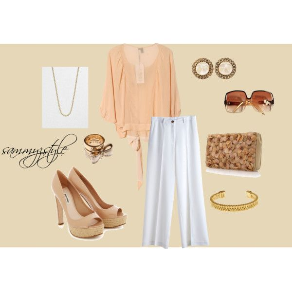 Spring Neutrals, created by sammyzstyle on Polyvore