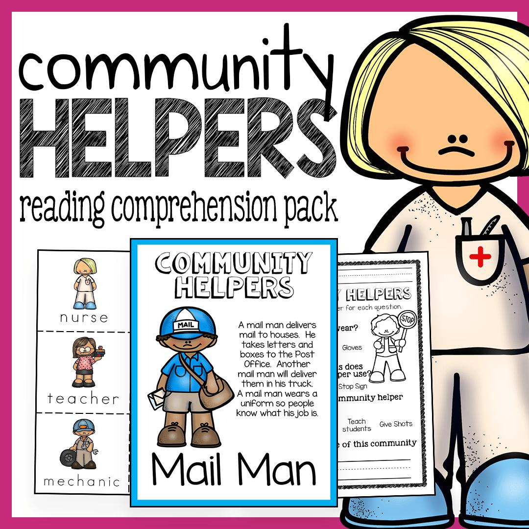 Community Helpers Unit For Preschool And Kindergarten