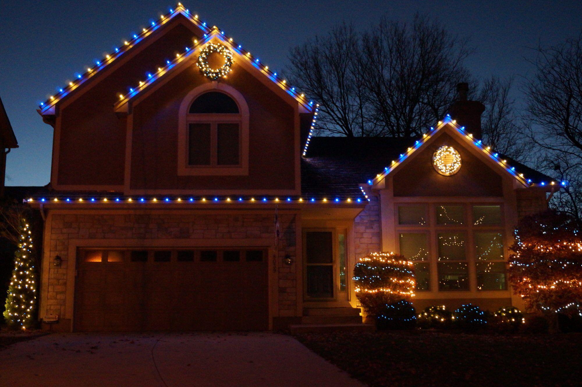 Jemanden Zu Hängen Christmas Lights Wo Weihnachten