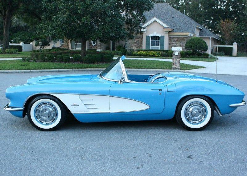 1961 Chevrolet Corvette Mjc Classic Cars Pristine Classic Cars
