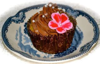 Romina's Sweets: Bananen Cupcake mit Nutella Frosting