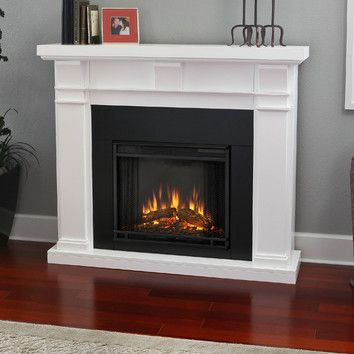 features includes mantel electric firebox with screen and remote control blower included. Black Bedroom Furniture Sets. Home Design Ideas