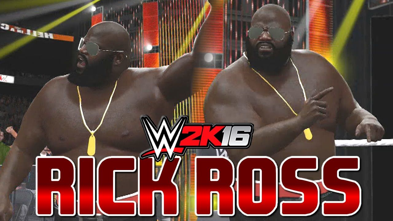 Wwe 2k16 Mark Henry Becomes Rick Ross Smack Downnnnn