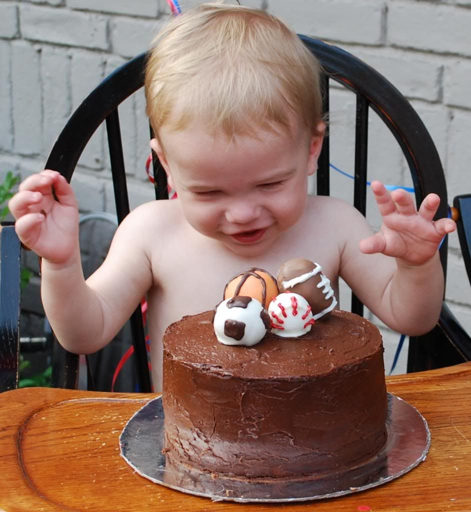 The Bakermama Gold Medal First Birthday Smash Cake Kids