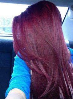 أناقة مغربية الوصفة المغربية الناجحة لصباغة الشعر بالأكاجول Hair Color Purple Hair Styles Burgundy Hair