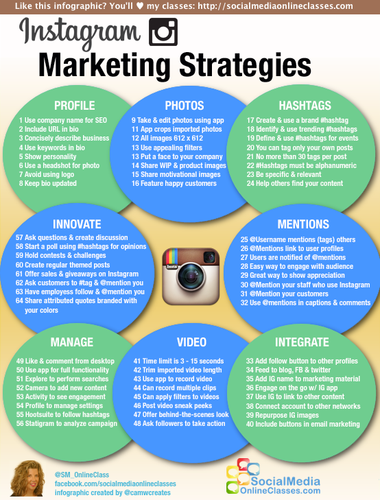 64 estrategias de marketing para instagram infografia  cv knowledge and skills examples communication degree resume best career objective for fresher computer engineer