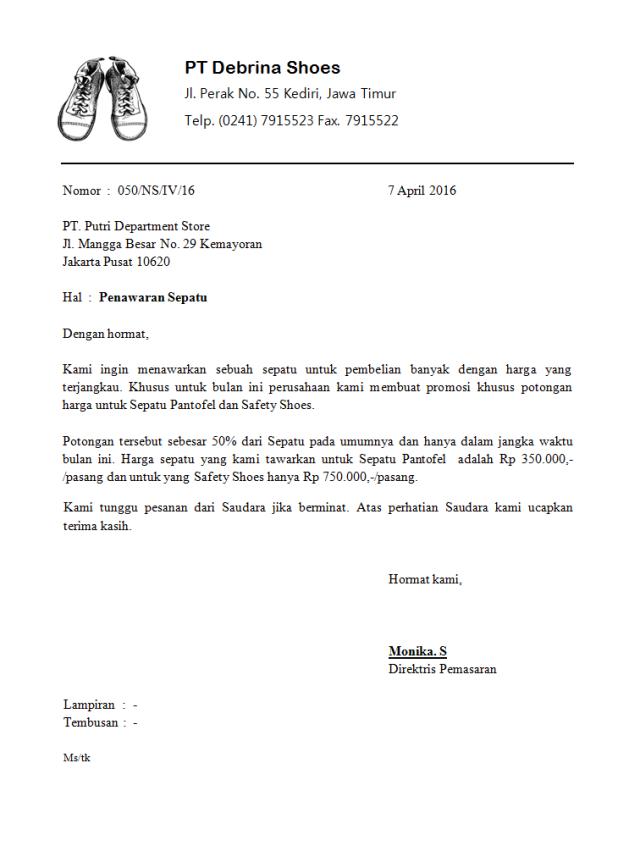 Contoh Surat Pesanan Full Block Style Bahasa Inggris Surat Inggris Bahasa Inggris