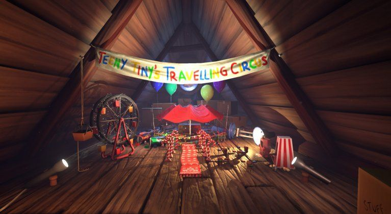 TEENY TINY Traveling circus by Sarah Akers, Games Design Uclan