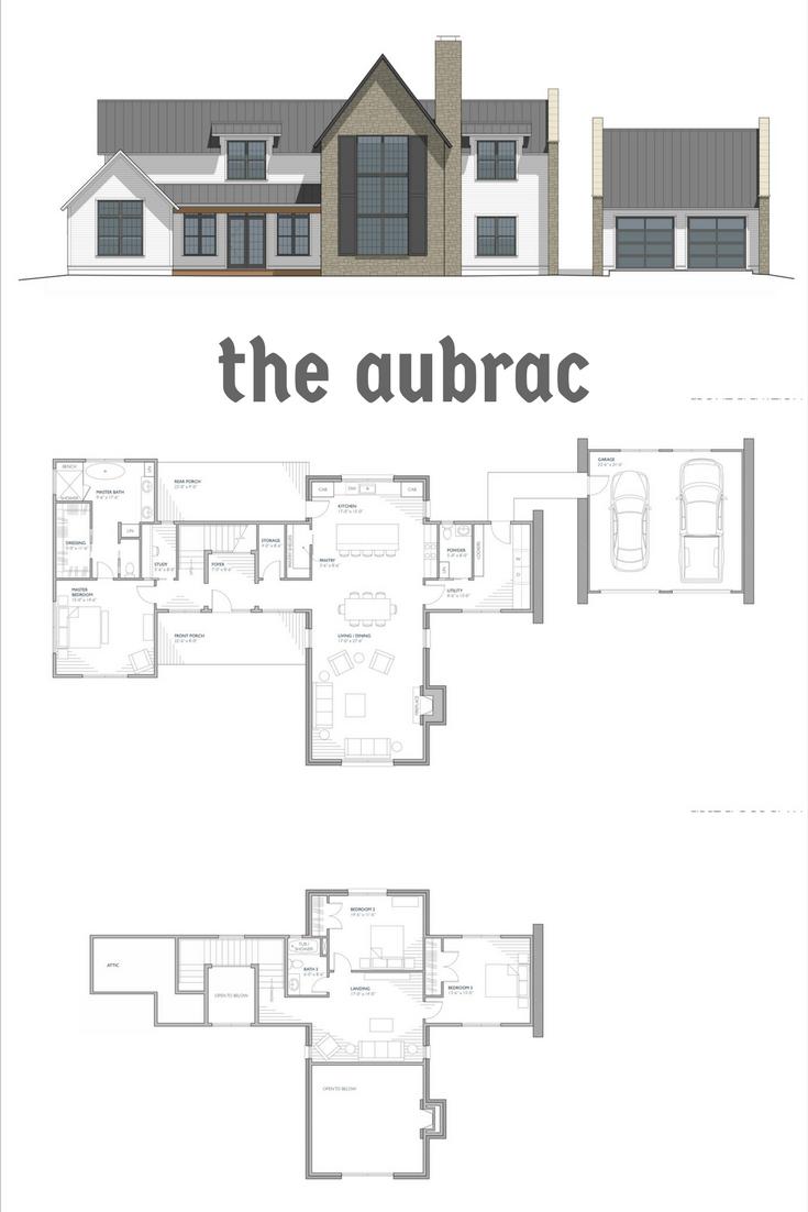 Aubrac Farmhouse Plans Farmhouse Floor Plans Modern Farmhouse Floorplan