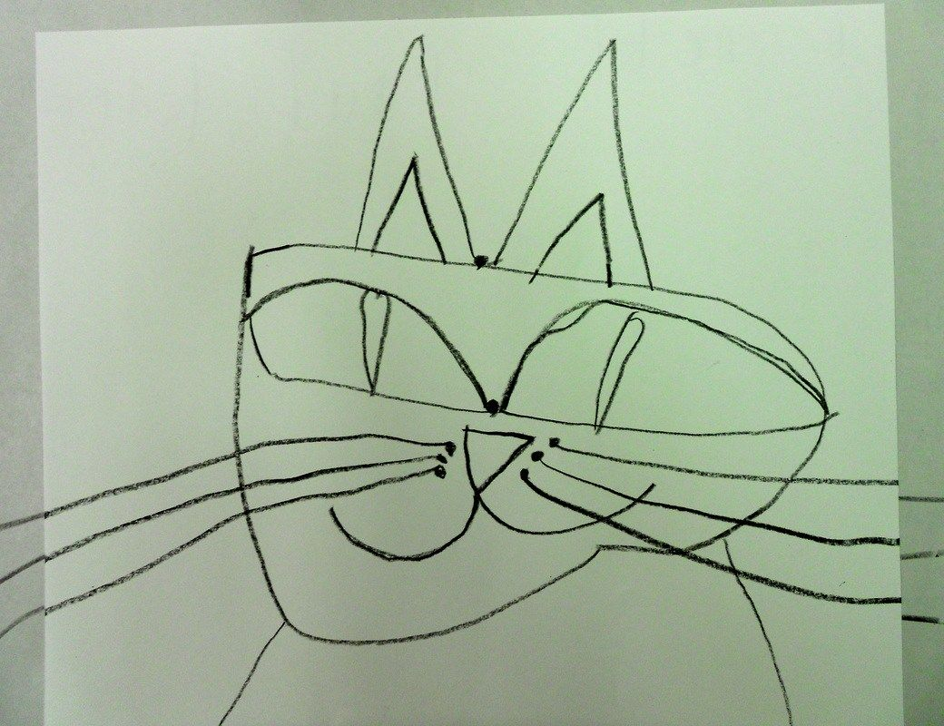 Paul Klee Cat Coloring Page free coloring pages of klee ...