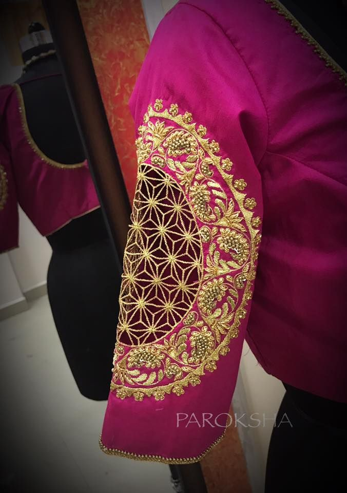 cd74763a14ea9 zentangle designs - CutWork bridal blouse in a intricate workmanship to  match with your Kancheevaram. 03 October 2017