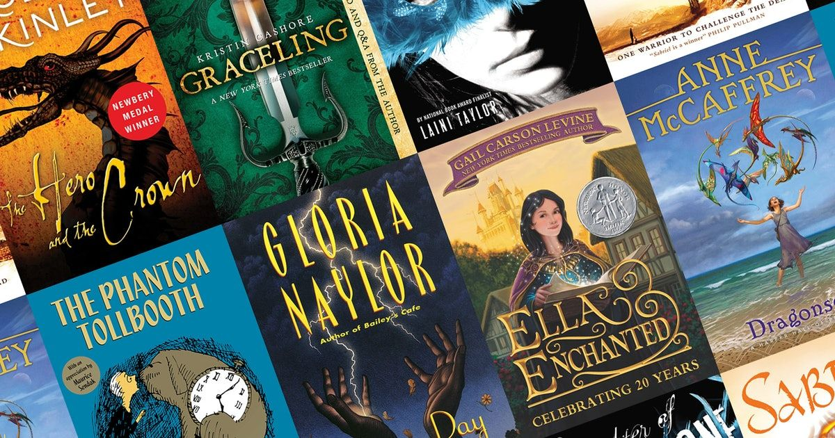 24 Fantasy Authors On The Books That Made Them Fall In Love With The Genre Fantasy Authors Fantasy Novel Books