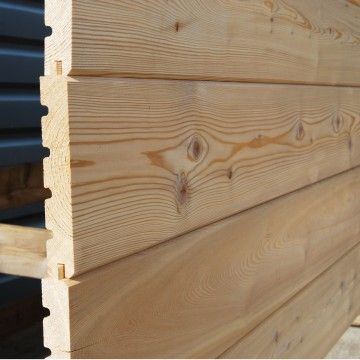 V Joint Larch Cladding For The Shed Larch Cladding Cladding House With Land