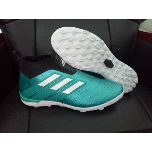 new styles 3994a 89f27 Adidas ACE Fotbollsskor - Billig 2017 Adidas ACE Tango 17 Purecontrol TF Bla  Fotbollsskor