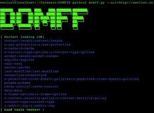 DOMFf is python script for DOM URL analysis forensic framework
