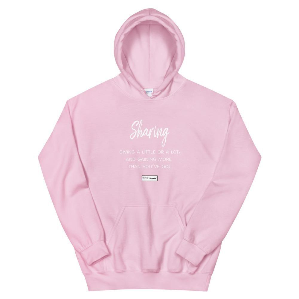 9. SHARING CMG – Women's Hoodie – Light Pink / 2XL