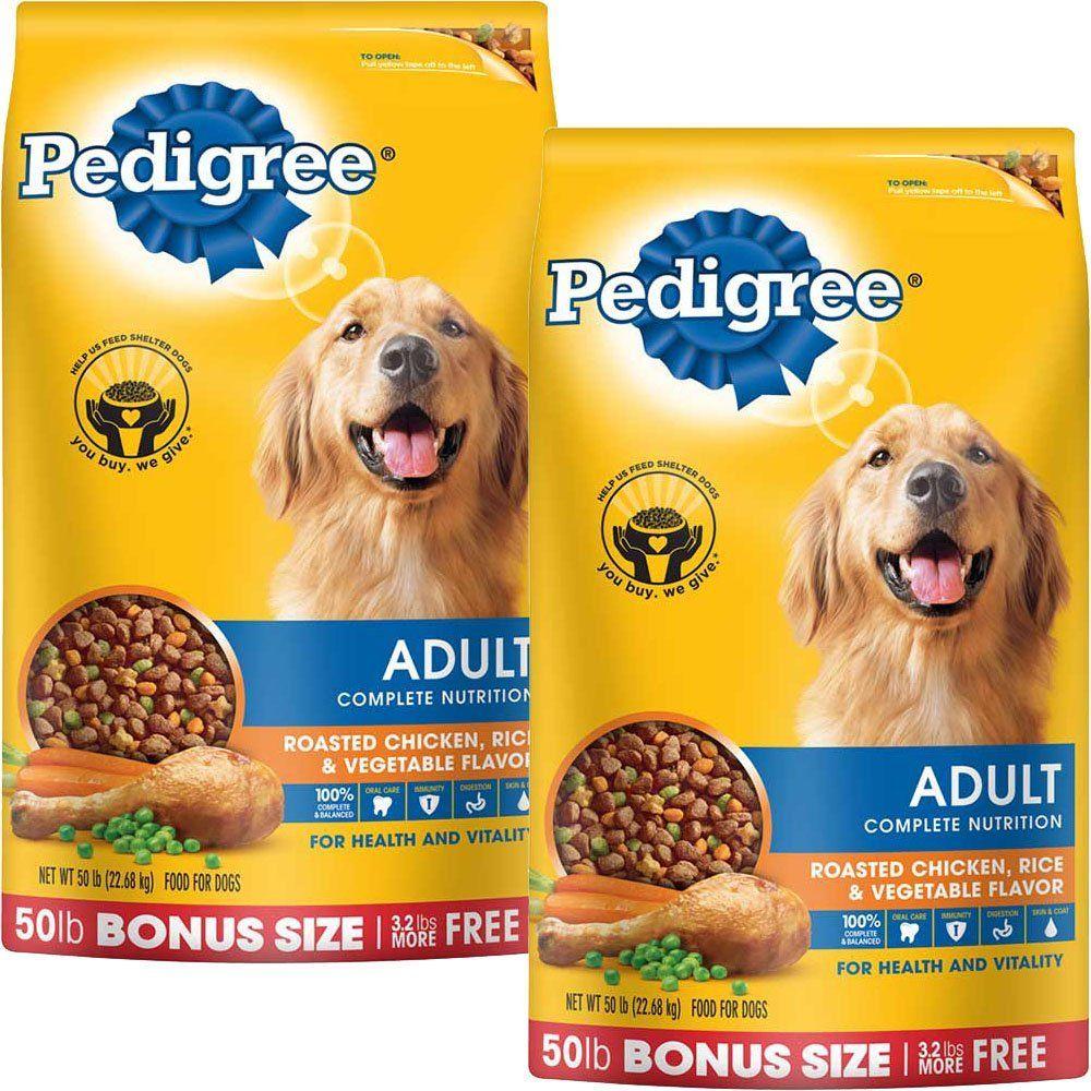 Pedigree Complete Nutrition Adult Dry Dog Food Bonus Bags Chicken
