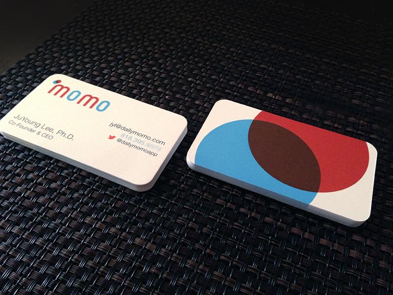 Momo Bc Branding Business Cards Creative Business Card Design Branding