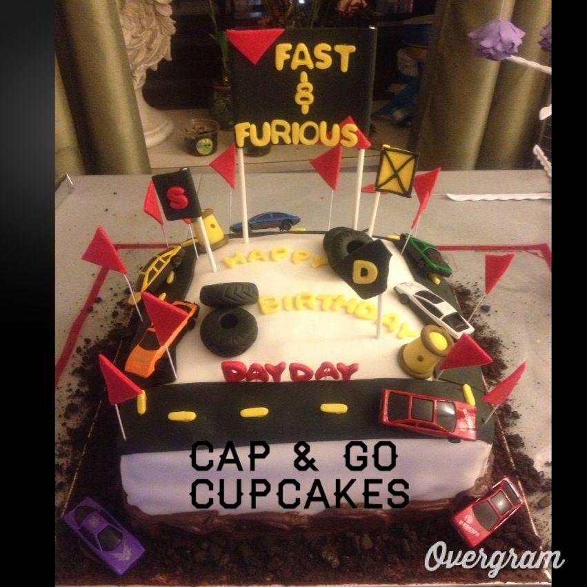 Fast & Furious Chocolate Birthday Cake!!