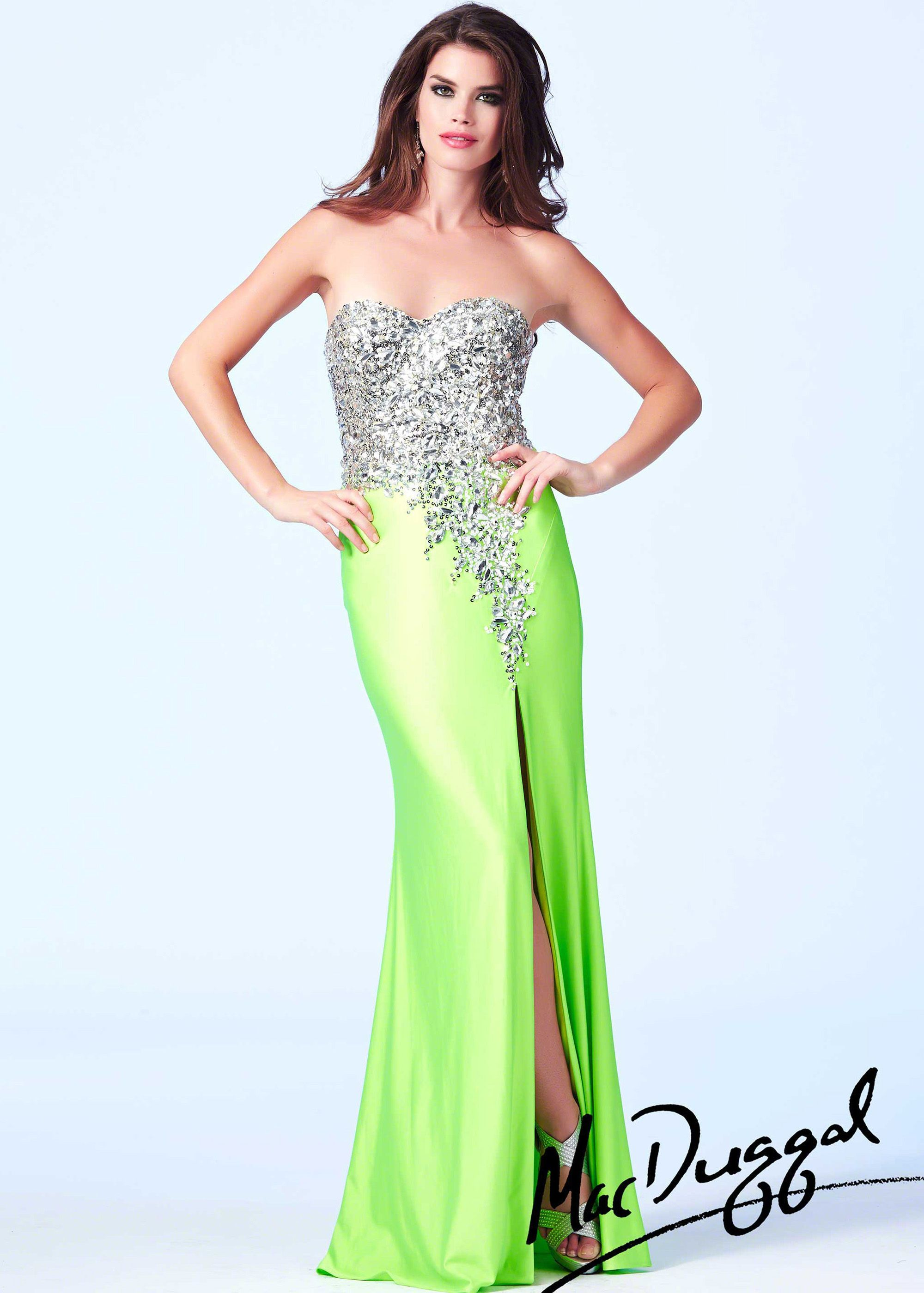 2019 year for lady- Peach Neon prom dresses pictures