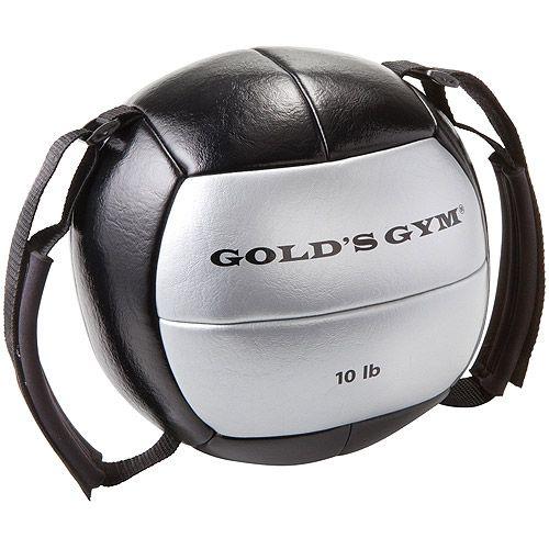 10 Lb Medicine Ball Walmart Com Medicine Ball Golds Gym Gym Ball