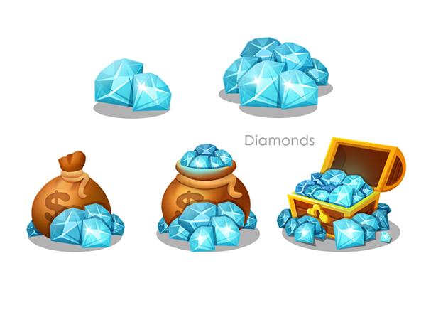 Game Icon Design On Behance Game Icon Design Game Icon Icon Design