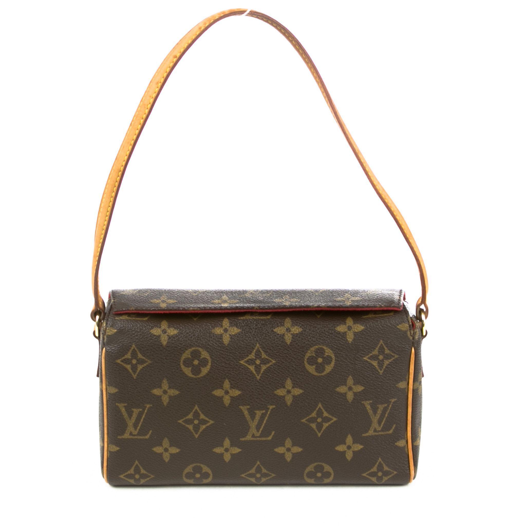 Louis Vuitton Recital Handbag Authentic Pre Owned