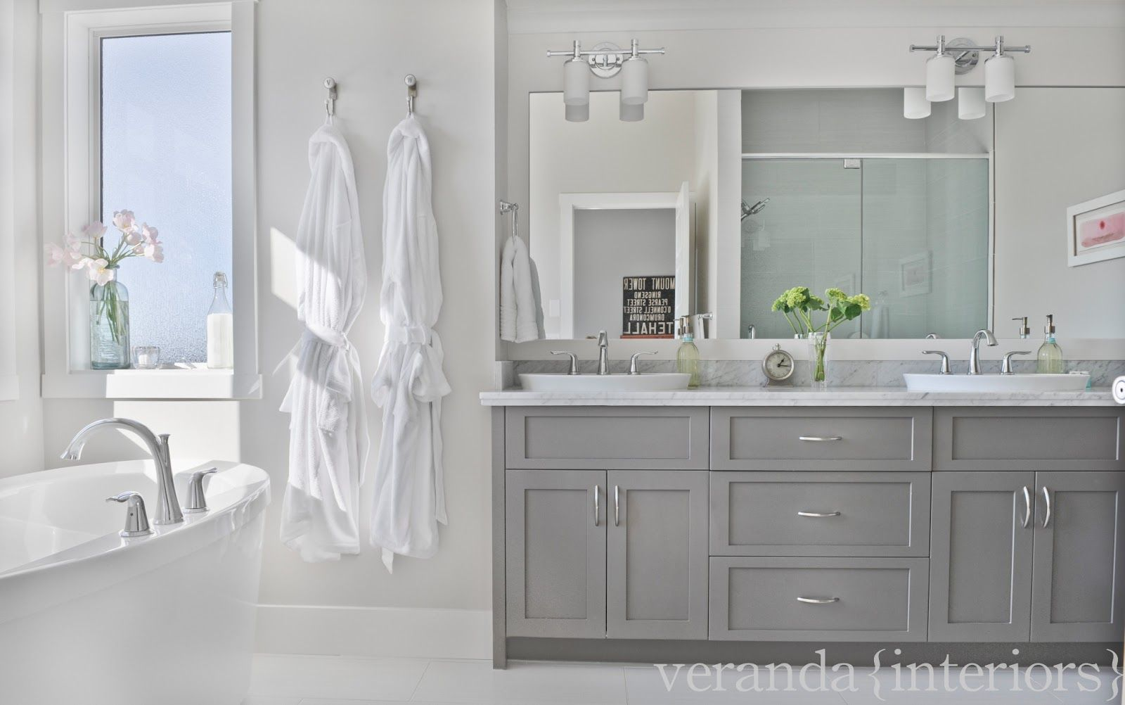 Past Work With Images Grey Bathroom Cabinets Grey Bathroom