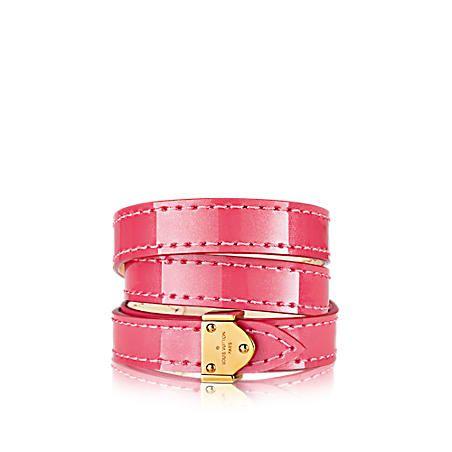 5369285b1e88 Bracelets en cuir Collection pour Femme   LOUIS VUITTON   accessories    Pinterest